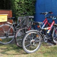 Dla naszych gości mamy wypożyczalnię rowerów